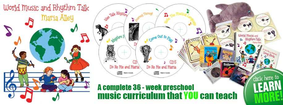Kindergarten Music Curriculum