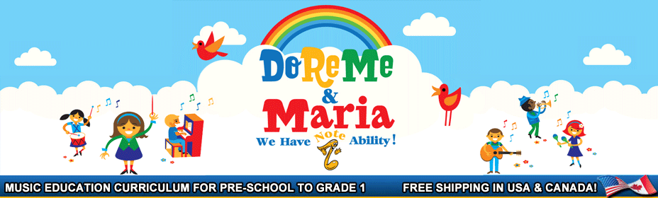 Preschool Music Curriculum by Do Re Me and Maria