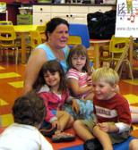 Maria and kids
