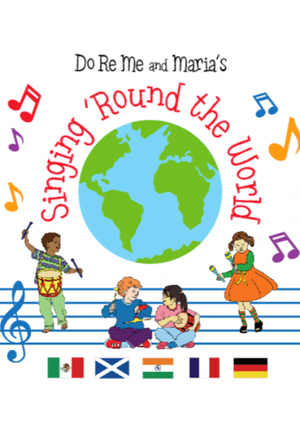 Singing Round the World booklet cover